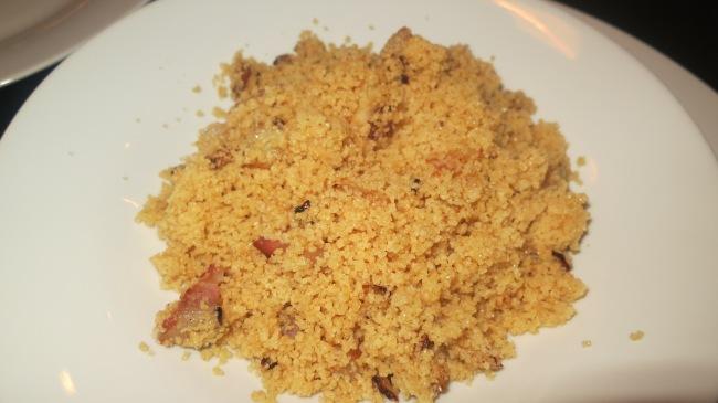 Garlic Pancetta Couscous
