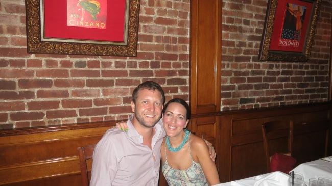 Dinner at Il Tesoro NYC