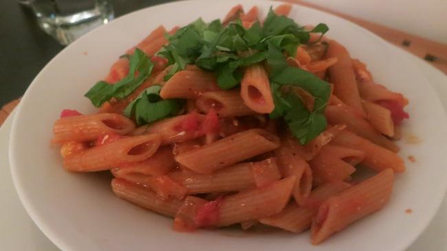 Penne With Tomato Pesto And Smoked Mozzarella Recipe ...