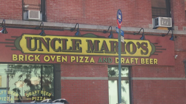 Uncle Mario's Pizza NYC
