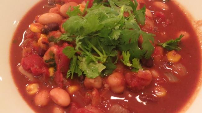 Clean Eating Vegetarian Chili