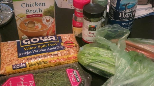 Clean Eating Split Pea Soup