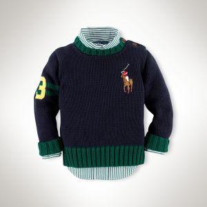 Cotton Big Pony Sweater - Ralph Lauren