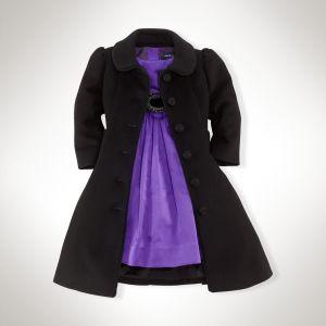 Princess Tuxedo Coat in Black - Ralph Lauren