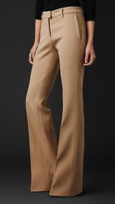 Tailored Flared Trousers - Burberry