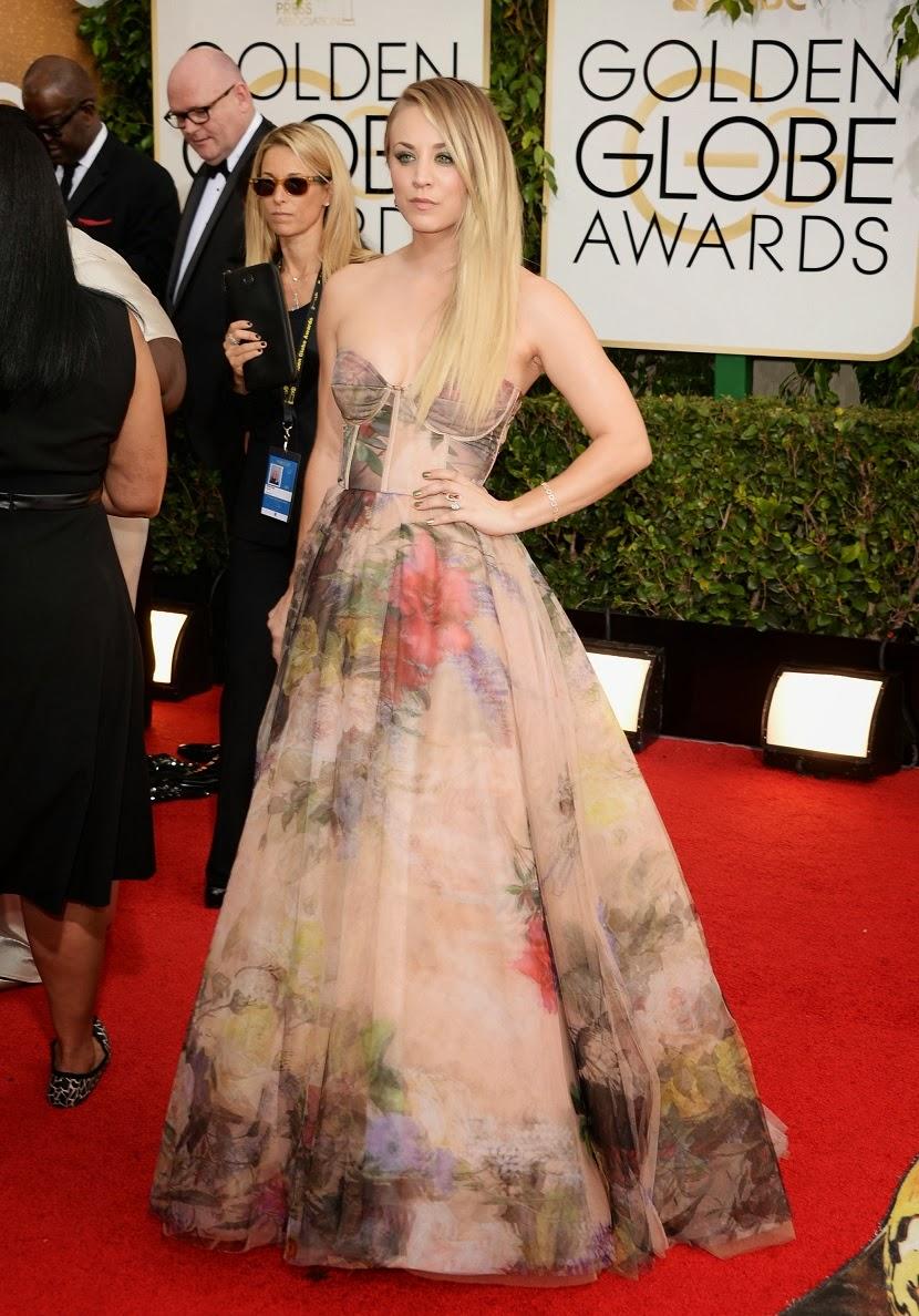 Kayley Cuoco Golden Globes 2014