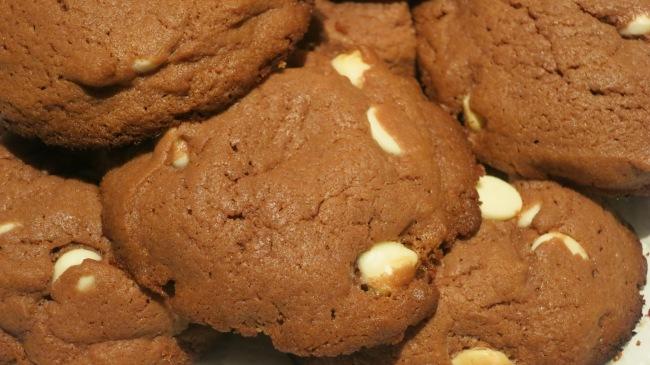 White Chocolate Chip Chocolate Pudding Cookies