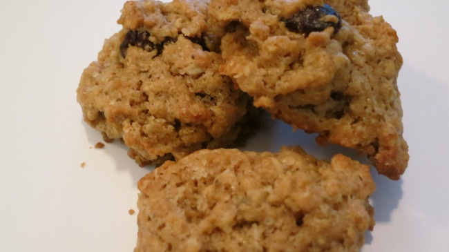Healthier Peanut Butter Oatmeal Cookies