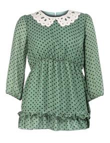 tunics-manon-baptiste-polka-dot-chiffon-tunic-kiwi-green-black_A12822_F5324